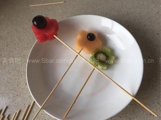西瓜盆栽水果拼盘
