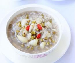 百合绿豆粥