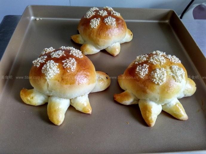 肉松小乌龟面包