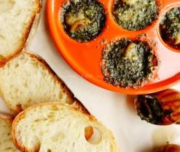 法式红酒蒜香焗蜗牛