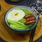 油菜饸饹面(早餐食谱)