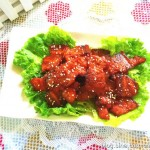 韓式辣醬烤五花肉(夏日烤箱菜)