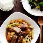 排骨焖土豆芸豆