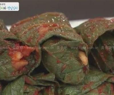 韩式苏子叶泡菜