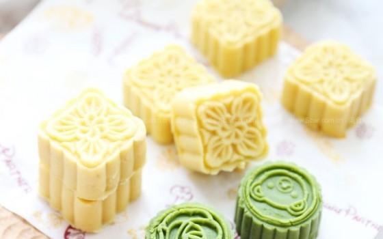 绿豆糕(清凉解暑)