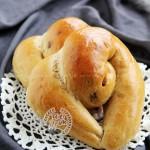 咖啡心形面包(中种)