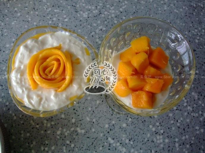 芒果酸奶捞