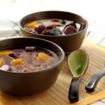 红豆薏米水+手工芋圆(夏日祛湿冰凉特饮)