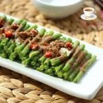麻酱豆角(夏季消热解暑的开胃小菜)