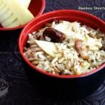 鲜笋焖饭(南洋风味)