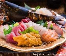龙虾刺身鱼生拼盘