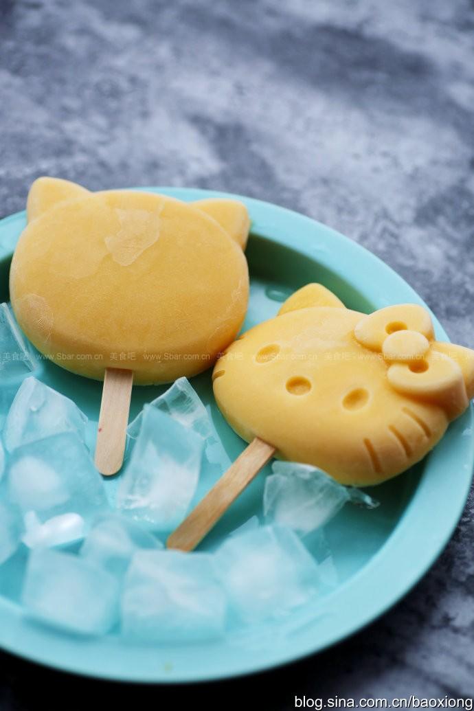酸奶水果冰棒