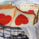 紅曲蛋糕吐司