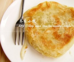 葱花脂油烧饼
