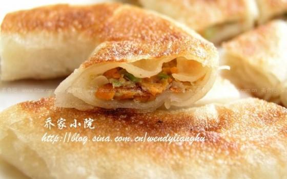 肉卷饼(卷卷肉饼)
