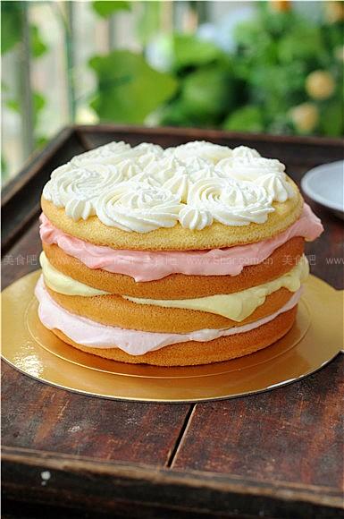 淡奶油裸蛋糕