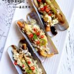 姜蒜蒸蛏子(快手宴客菜)