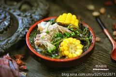 龙骨海带玉米汤