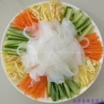 自做拉皮(东北著名小吃)