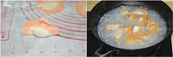 胡萝卜牛肉水饺