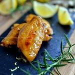 迷迭香柠檬烤翅(烤箱食谱)