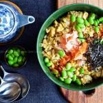 日式炒饭(早餐食谱)