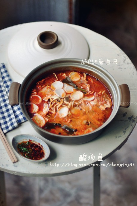 著名贵州凯里酸汤鱼