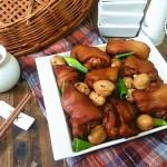 猪蹄炖鹌鹑蛋(健康护肤抗衰老)