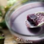 紫薯西米奶汤(瘦身减肥饮品)
