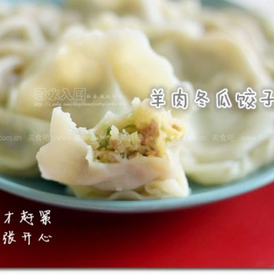 羊肉冬瓜饺子
