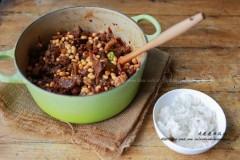 黄豆野山椒焖牦牛肉