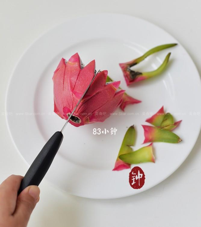 火龙果莲花