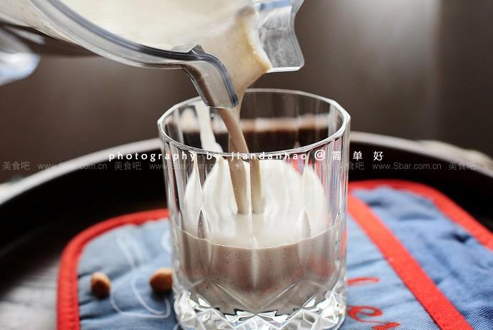 花生黑豆黑糖奶