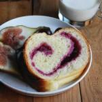 紫薯大皇冠面包