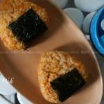 泡菜芝士金枪鱼饭团(早餐食谱)