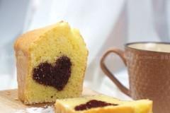 爱心磅蛋糕