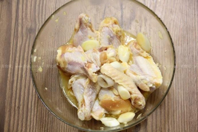 蒜香脆皮烤鸡翅