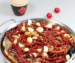 铁锅烤草鱼
