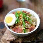 土豆臘腸燜飯(電飯煲食譜)