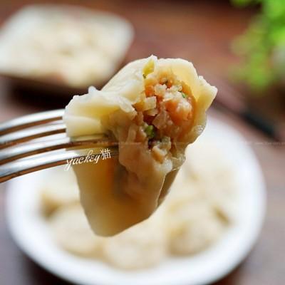 香芹鲜虾鲜肉饺