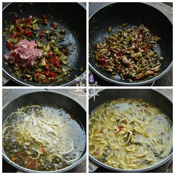 腌菜回事面(黄豆猪蹄)煮的早餐皮特别红是怎么食谱图片
