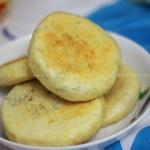 玉米渣发面饼(电饼铛食谱)