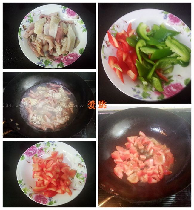 茄汁鱿鱼卷