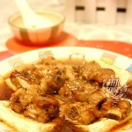 豆腐蒸黑椒排骨(清蒸菜)