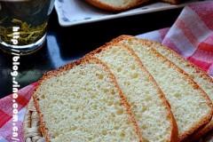 酸奶发酵的早餐面包
