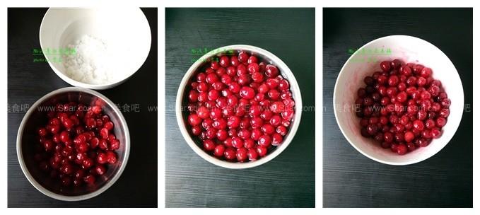 微波蔓越莓果脯