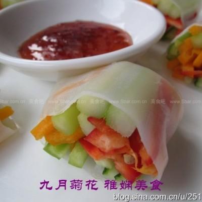越南蔬菜春卷