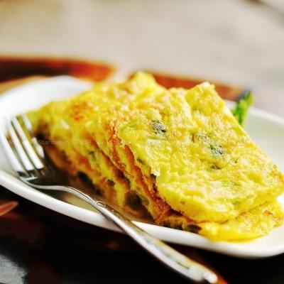 葱花摊鸡蛋