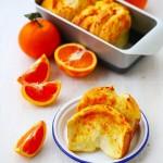 香橙手撕面包(血橙汁)