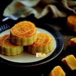 自制超人气半岛奶黄月饼(中秋必备美食)